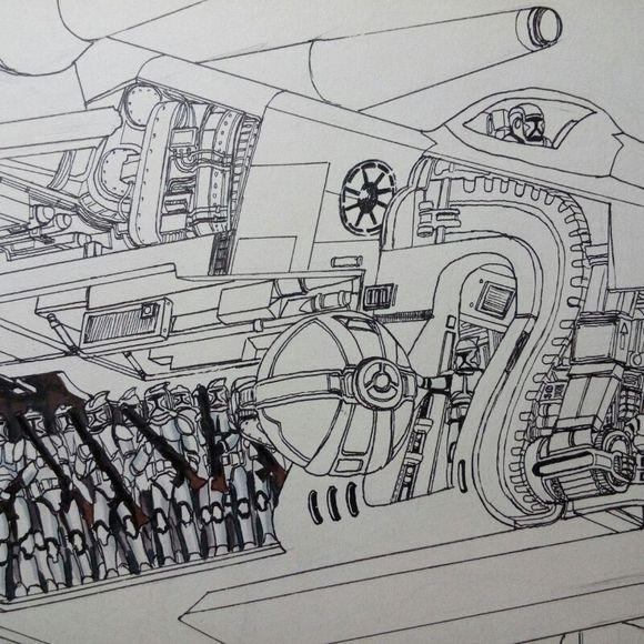 《星球大战:指挥官》手绘的记忆活动